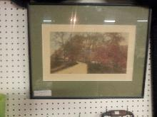 Wallace Nutting Lithograph