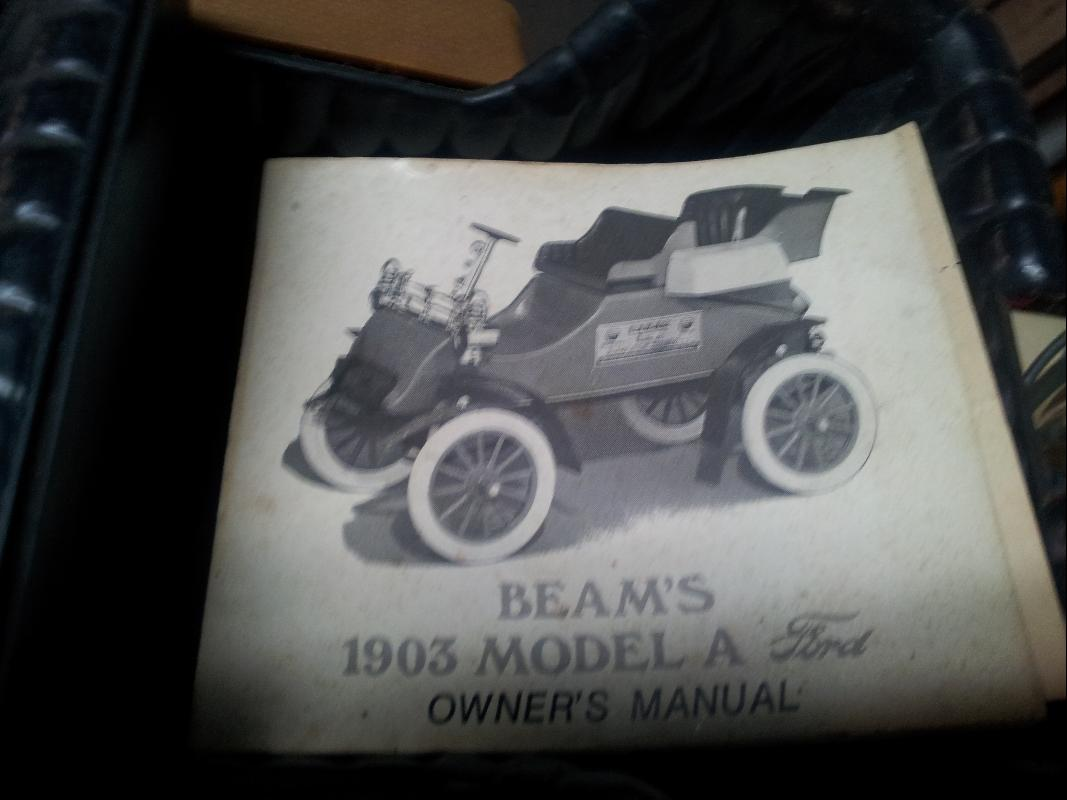 Jim Beam 1903 Ford Model A Liquor Decanter