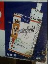 Chesterfield Cigarettes Single sided sign 1950's