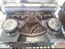 Royal Typewriter with Transparent Glass sides