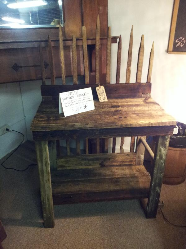 Amish Planter Table