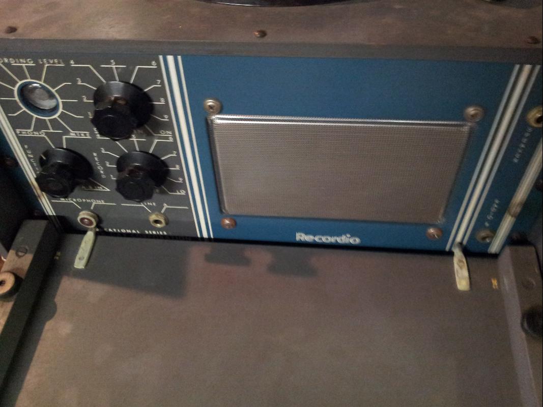 Wilcox-Gay Recordio Transcription Machine