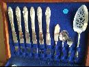 46 Piece Tudor Plate Queen Bess Pattern
