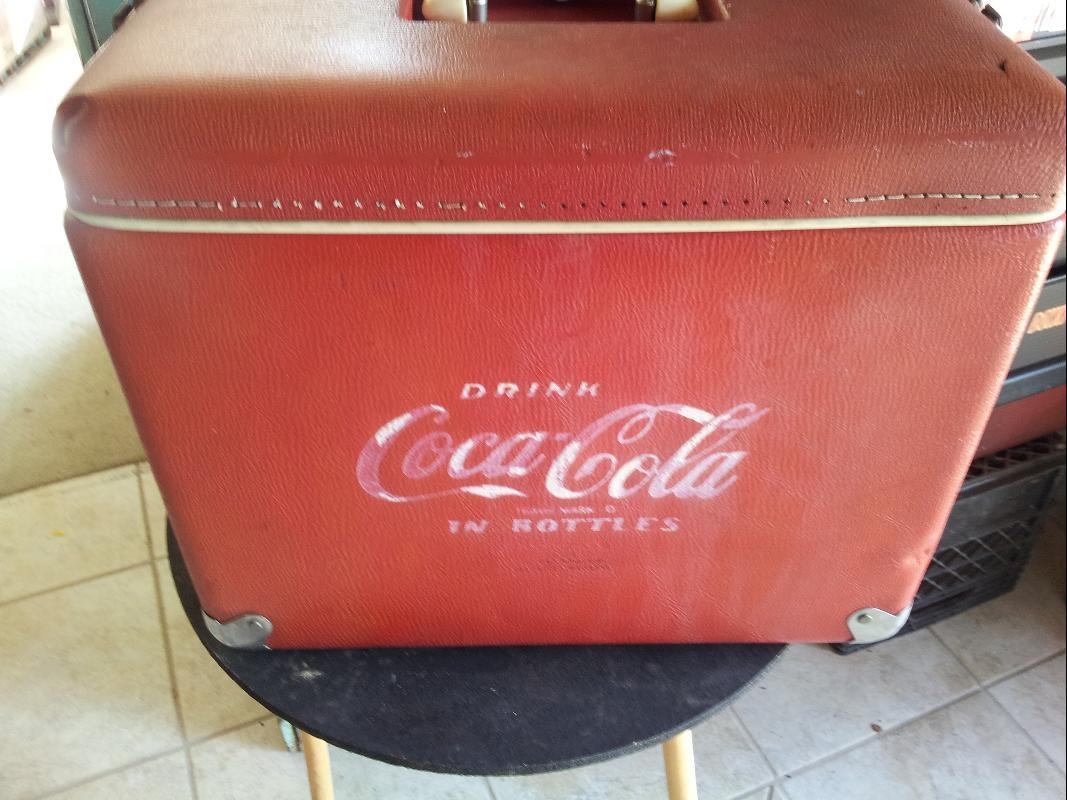 Coca Cola 1950's Salesman Cooler