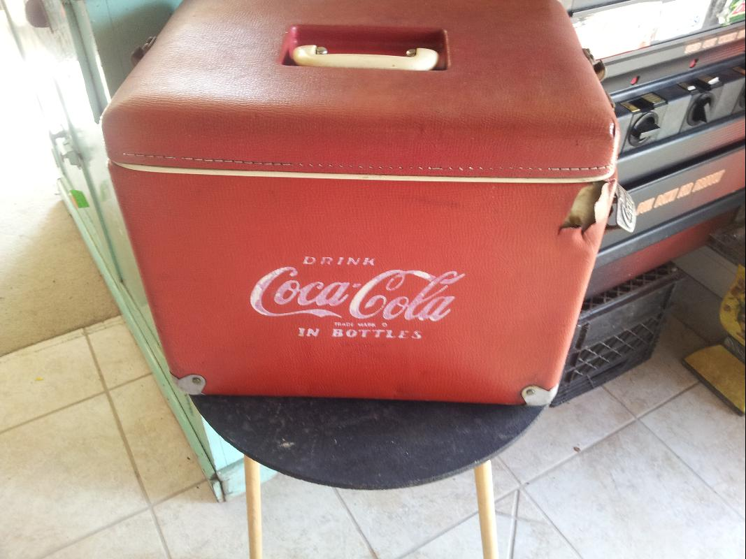 Coca Cola 1950's Salesman Cooler