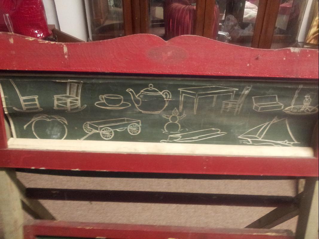 1940's Foxy Toys Chalkboard