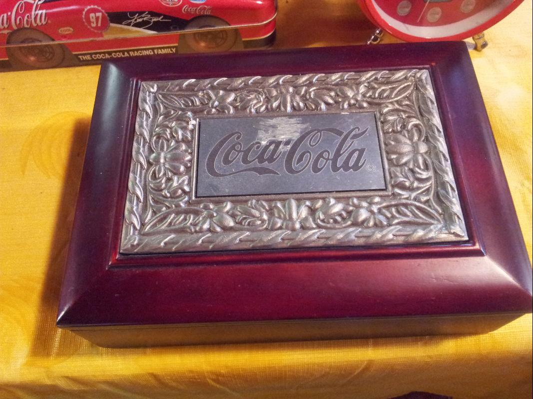 Coca Cola Jewelry box