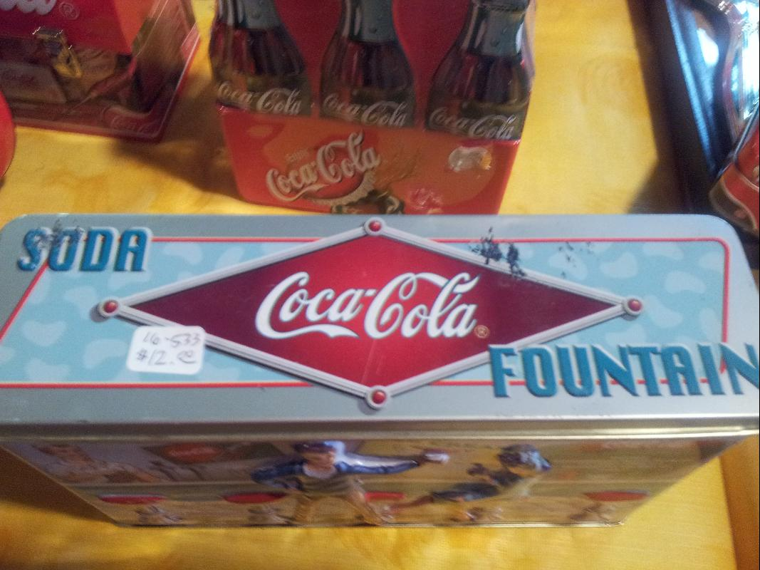 Coca Cola Soda Tin