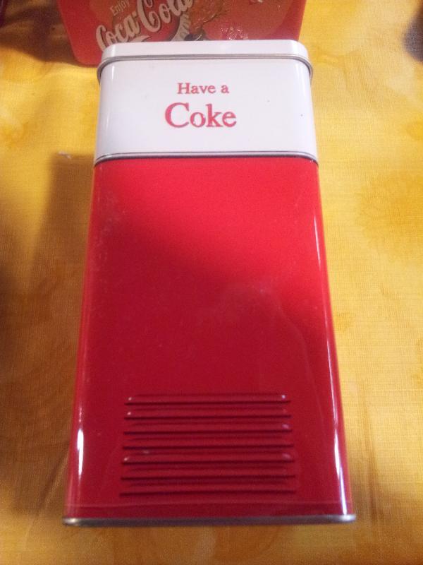 Coca Cola FreezerTin