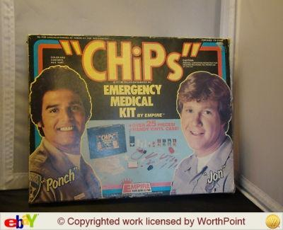 CHiPs TV SHOW Emergency Kit