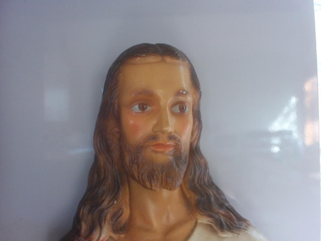 11 inch tall ceramic Jesus