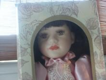 18 inch porcelain doll from Lauren Elizabeth