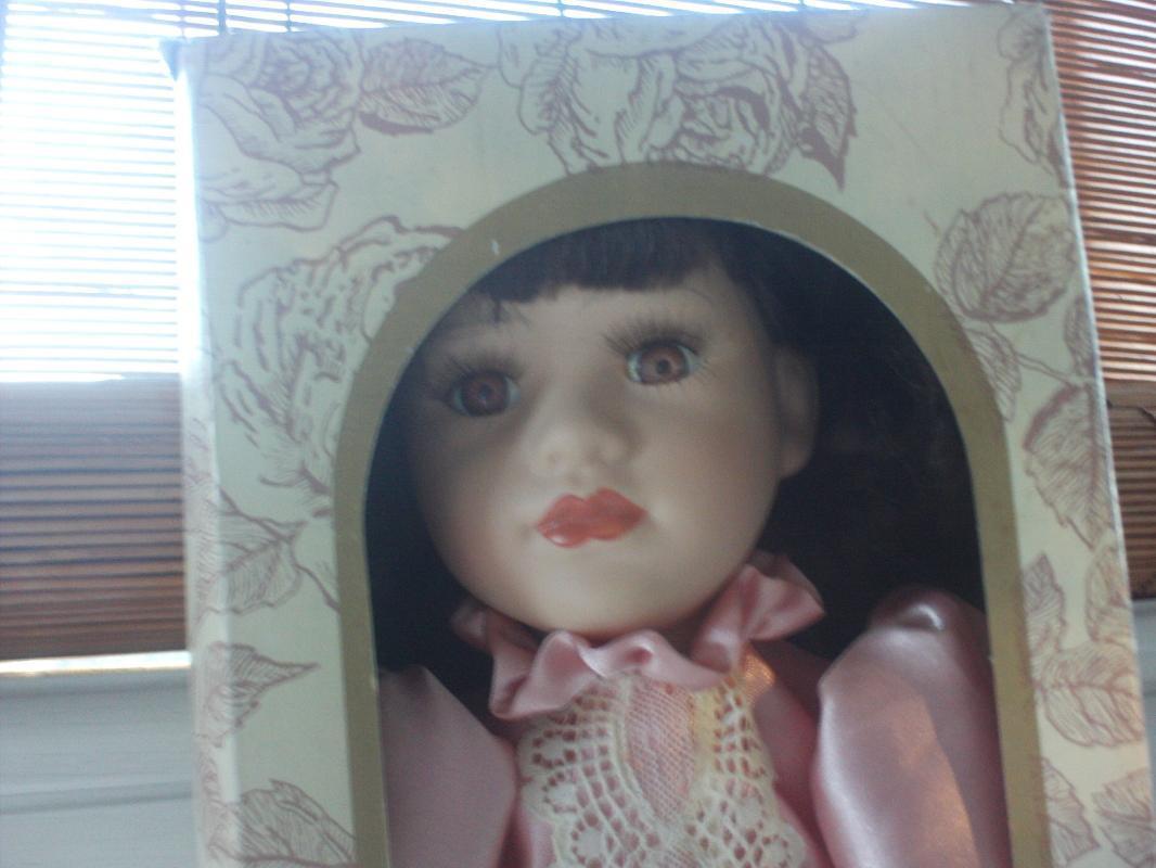 18 inch porcelain doll from Lauren Elizabeth