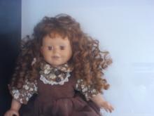 15 inch porcelain doll