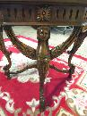 Table Figural Heads Marble Top Octogon Shape