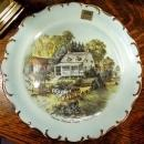 Imperial  Collectile Plate Ives & Currier