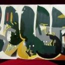 Laylo Abstract Acrylic on Canvas  Lost in Warr