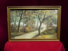 Artist Alan Fontaine Landscape Print