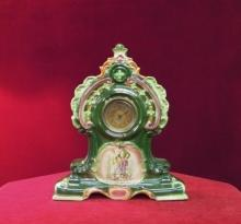 China Cased Strasburg Clock  Mantel  England