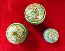 Asain  Jar Set  Colorful