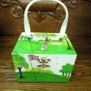 Golfing Box Purse/Lunch Box