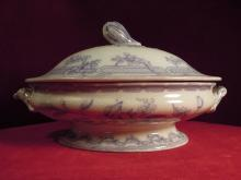 antique Tureen Floral Design