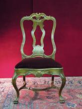 Chippendale Side Chair Mohair