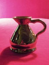 Lusterware Pitcher Gold