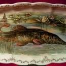 Sterling  Fish Platter 1940s Collectible