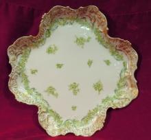 CF Haviland, Platter, 1891 Floral
