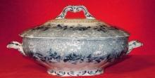 Royal Semi Porcelain  Ridgway Tureen Dundee Pattern