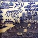 English Tureen  Blue Willow Pattern