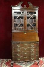 Chippendale Secretary  Maddox Colonial Reproductions