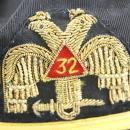 Vintage 32nd Degree Double Eagle Mason Hat