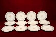 Ahrenfeldt Limoges China Plates  Gold Stunning