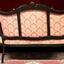 Louis XV Settee Three  Fauteuil Arm Chairs   Four Pieces Majestic