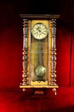 Antique Wall Clock DRGM German