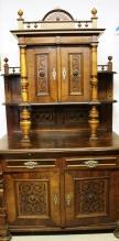 Cathedral Eastlake Sideboard Hutch  Magnificent