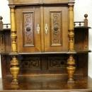 Cathedral Sideboard Hutch  Magnificent
