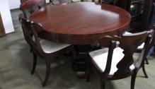 Mahogany Dining Room Sideboard China Cabinet