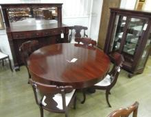 Mahogany Dining Room Sideboard China Cabinet