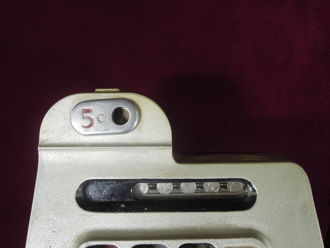 Antique Mills Slot Machine  5 cent Diamond Front Collectible
