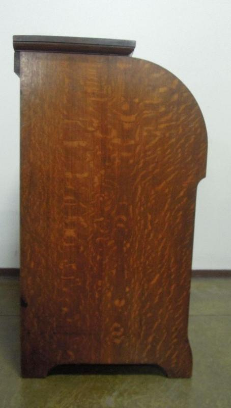 D & H Waddington Roll Top Desk  Wood Antique