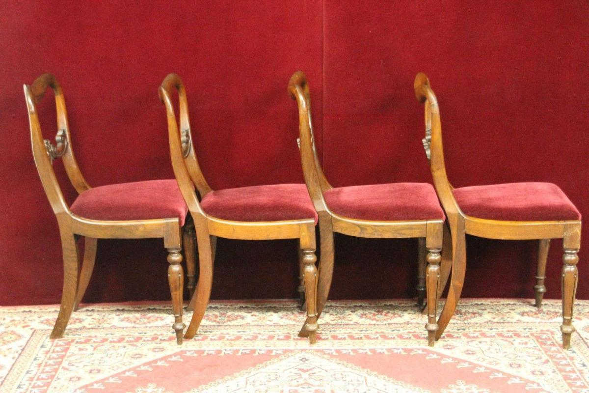 English Rosewood Chairs