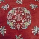 Hand Made Wool Area Rug Floral Medallion  Vases  China Stunning