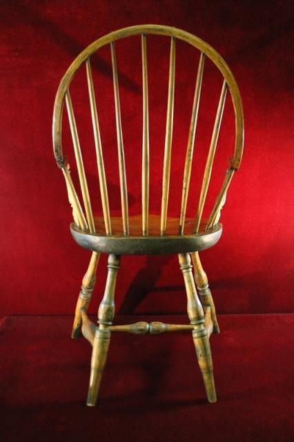 AntiqueMc Cormick Windsor Chair New Oak  England RARE