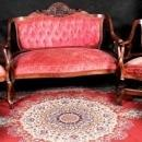 Antique Carved  Zeus Settee Rocking Chair Side Chairs North  Man Wind