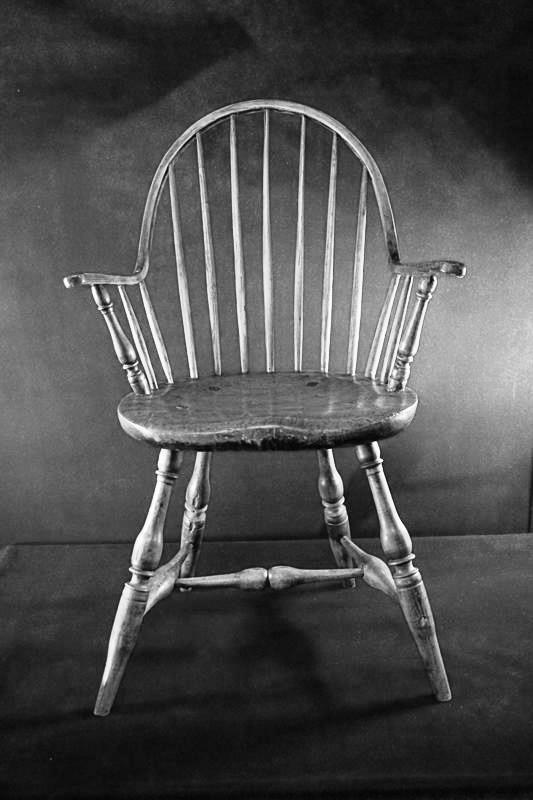 Antique McCormick Chair Windsor Oak  England RARE