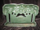 Cast Iron Garden Bench & Terrace Doorstop John Wright Door Stop