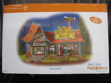 Department 56 Dead End Motel  Snow Village Halloween